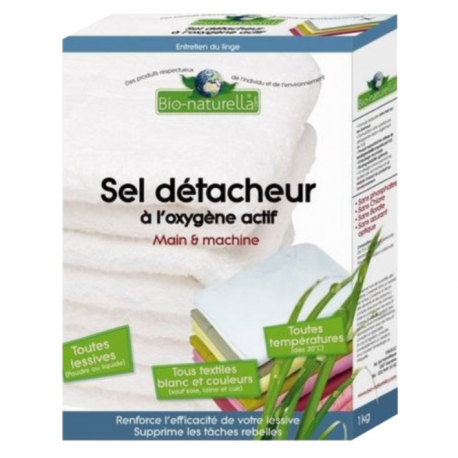 Sel détacheur main+machine 1kg bio