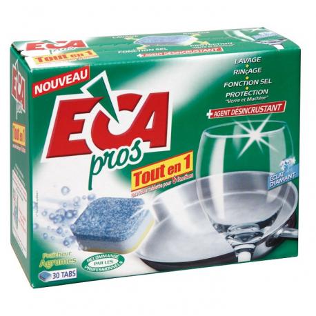 ECA pastilles lave-vaisselle tout en 1 30 doses