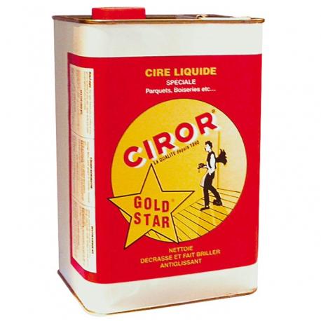 Cire goldstar Ciror jaune 5l