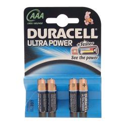 Pile alcaline AAA/LR03 Duracell Ultra Power x 4