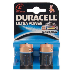 Pile 1,5V C/LR14 Duracell Ultra Power x 2