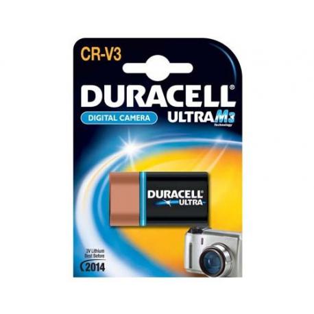 CRV3 - Pile Lithium Photo - Duracell M3