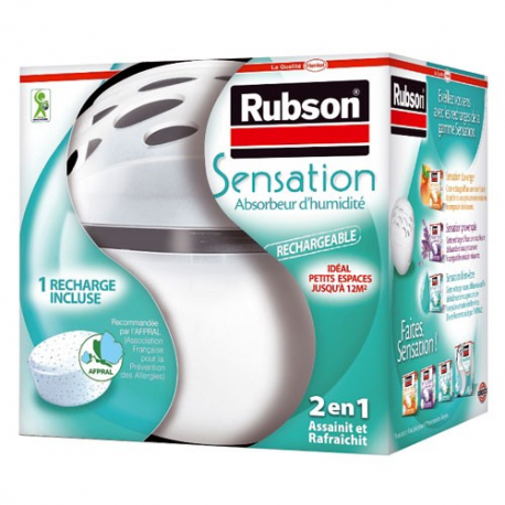 Absorbeur Sensation de RUBSON + 1 recharge