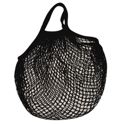 Filet coton noir 40 x 40 - SIDEBAG