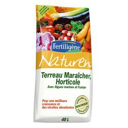 Terreau maraicher 40l Naturen - Fertiligène
