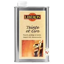 Teinte et cire Liberon châtaignier 0,5l