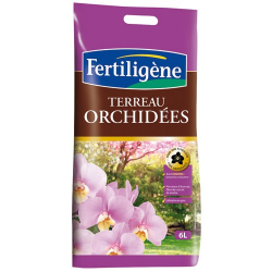 Terreau orchidées 6l - Fertiligène