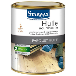INDISPONIBLE-Huile parquets STARWAX 1l