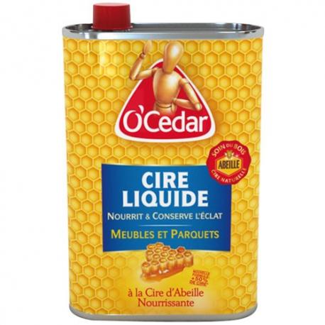 Cire abeille O'CEDAR liquide 750ml