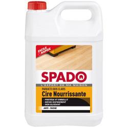 Cire parquet SPADO chêne clair 5l