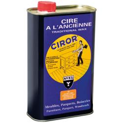 Cire à l'ancienne traditionnal wax CIROR liquide jaune 1L