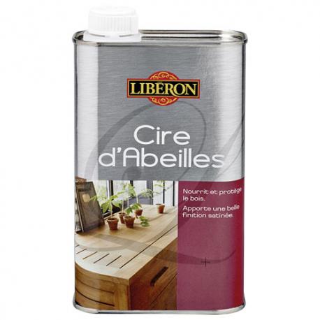 Cire abeilles liquide 0.5L Liberon incolore