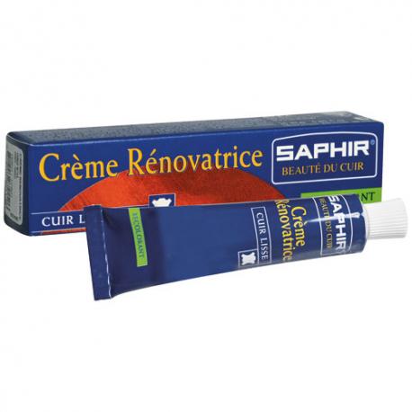 Crème rénovatrice saphir tube 25ML marron foncé