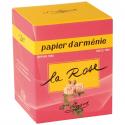 Bougie papier Arménie la rose