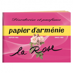 1 Carnet papier Arménie la rose