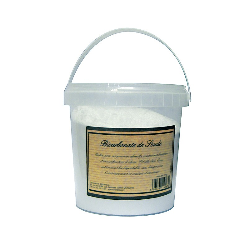 Bicarbonate de sodium bo te 1kg produits d 39 entretien - Bicarbonate de sodium cuisine ...