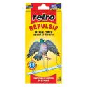 RETRO Répulsif pigeons picots x6