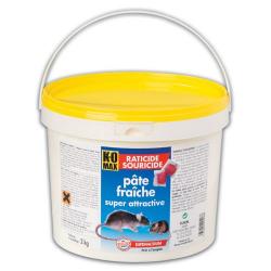 Komax raticide sourice pâte 2kg
